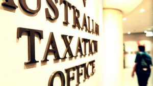 Australian-Tax-Office-gold-letters-on-a-corporate-wall