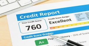 Credit-report-showing-credit-score